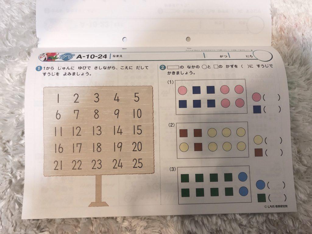 七田式プリントA