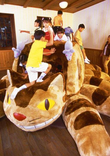 ジブリ美術館のネコバス