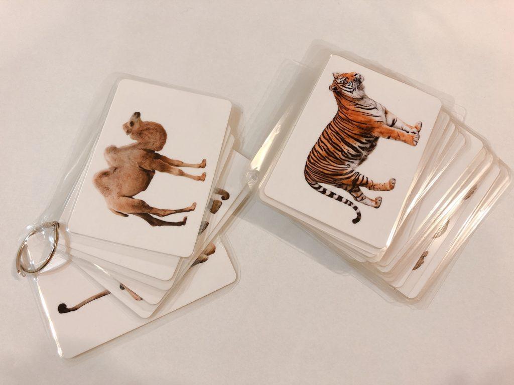 DAISOのものしりカードで!リングカードの作り方